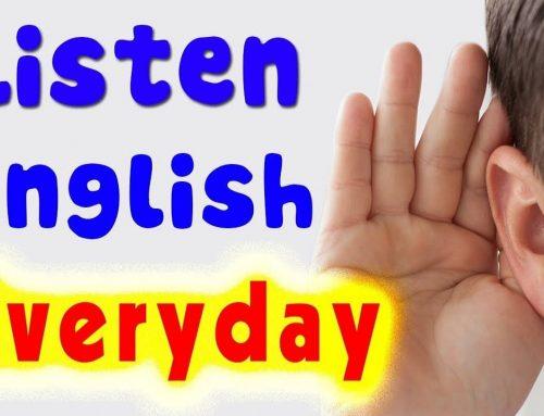 英文聽力學習